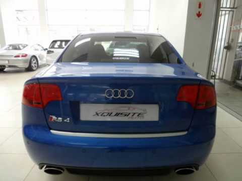 2007 audi rs4 auto for sale on auto trader south africa youtube. Black Bedroom Furniture Sets. Home Design Ideas