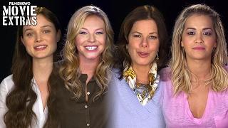 Fifty Shades Darker On-set visit with Bella Heathcote, Eloise Mumford, Marcia Gay Harden & Rita Ora