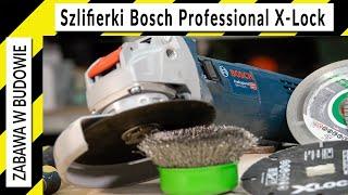 X-Lock Bosch Professional Szlifierki GWX 9-125S i GWX 18V-10SC