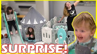 We Turned our House in to a Soft Play Centre! Fun Family Three Ava isla Olivia