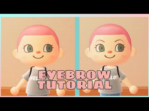 Animal Crossing New Horizons Eyebrows Guide How To Add