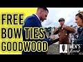 Goodwood Revival 2018 Fashion - Giving Away Free Bow Ties!