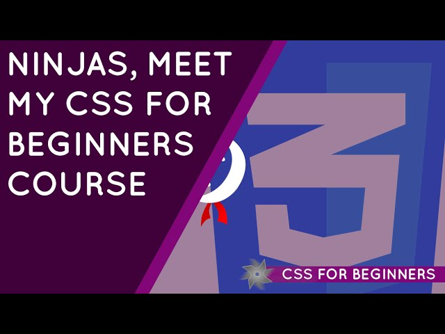 CSS Tutorial For Beginners 01 - Introduction to CSS
