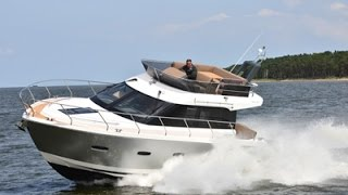 First test of the new Sealine F380 from Motor Boats Monthly