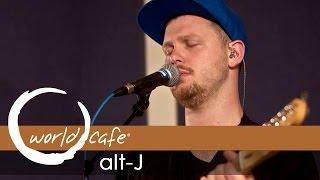 "alt-J - ""Left Hand Free"" (Recorded Live for World Cafe)"