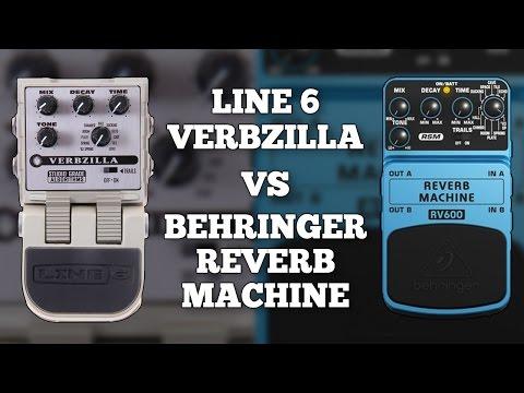 Line 6 Verbzilla VS Behringer RV600 Reverb Machine (Comparison)