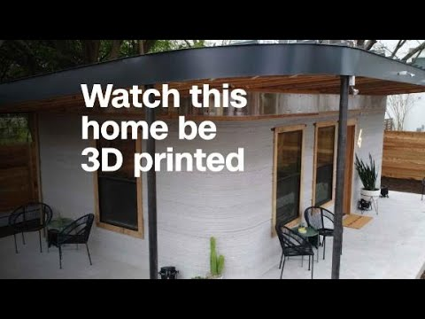 Watch this home be 3D printed