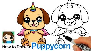 How to Draw a Puppycorn | Doggycorn