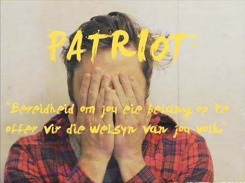 BOUWER BOSCH FT. LOUFI – PATRIOT (LIRIEKVIDEO)