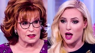 Joy Behar Hilariously Silences Meghan McCain's Nonsense AGAIN