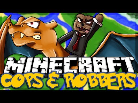 Minecraft PIXELMON Modded Cops and Robbers