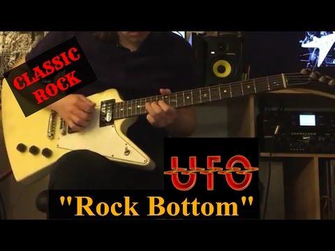 UFO BAND - Rock Bottom | Cover on guitar Gibson Explorer