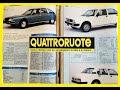 1980-81: ALFA ROMEO ALFETTA 2000 L vs. CITROEN CX PALLAS (QUATTRORUOTE, prova su strada)