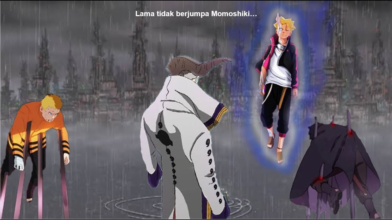 Boruto mode otsutsuki VS Isshiki otsutsuki - mampukah Boruto menyelamatkan Naruto dan juga Sasuke