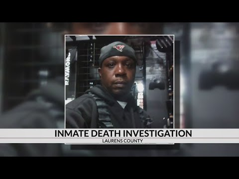 SLED investigating inmate death in Laurens County