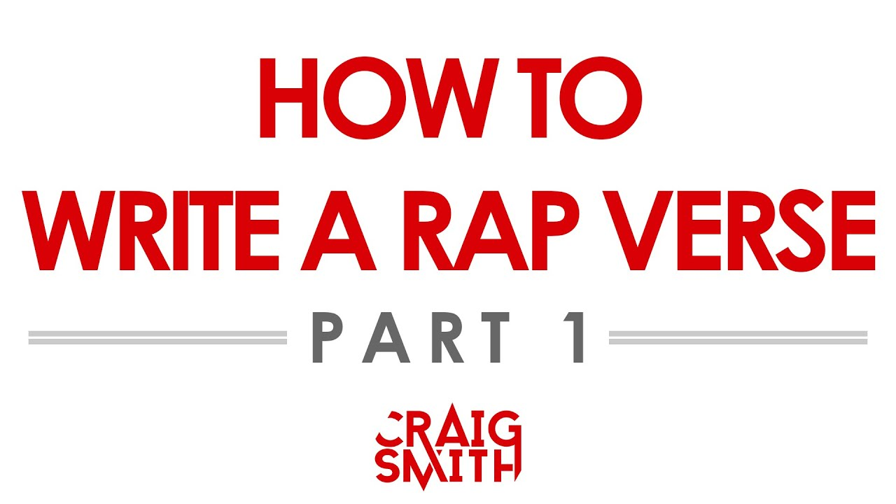 How To Rap: Song Structure