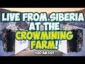 Live from Siberia at the CrowMining.com Bitcoin Mining Farm