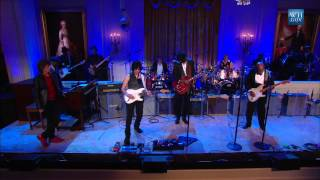 Buddy Guy Mick Jagger Gary Clark Jr And Jeff Beck Perform Five Long Years