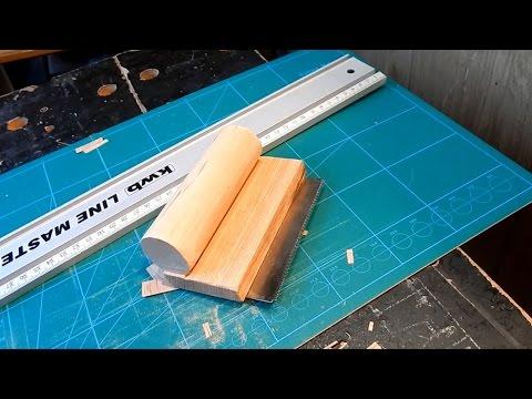 Самодельный фанеровочный нож (фанеровочная пила)