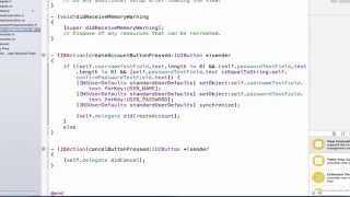 iOS Programming Tutorial - Use of NSUserDefault, Segues and Protocols in Objective C Part 4 - 45