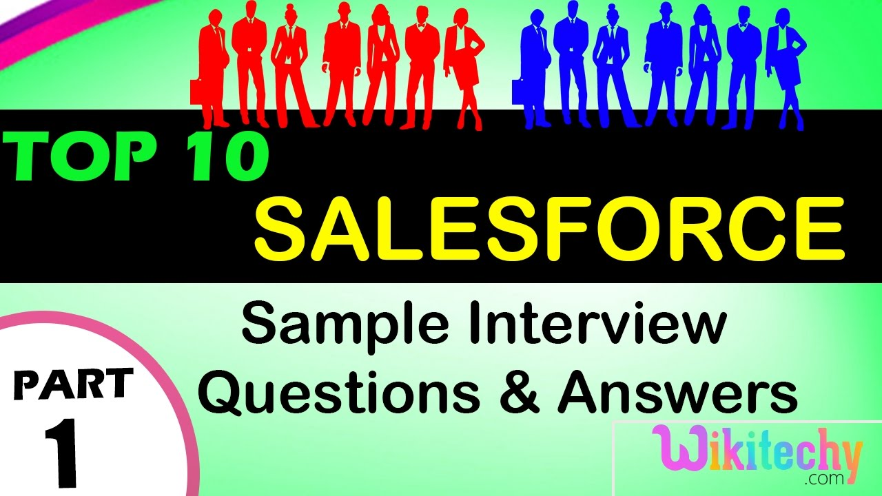 Salesforce top most interview questions and answers for freshers ...