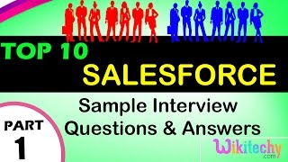 salesforce top most interview questions and answers for freshers experienced online lectures