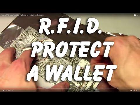 RFID Proof your wallet - Simple HACK