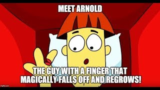 MEET ARNOLD Everytime he LOSES his FINGER! | COMPILATION