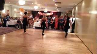 Irish Dance At Russian Wedding In Galway