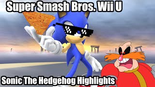 Super Smash Bros. for Wii U: Sonic Highlights (900 Subscriber Special)