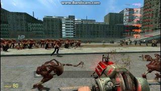 Gmod: humans vs. combine vs. zombies (part 1)