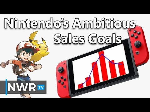 Nintendo's Ambitious Switch Sales Goal for 2018