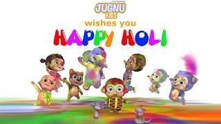 Holi Dance Video - Happy Holi from Jugnu Kids