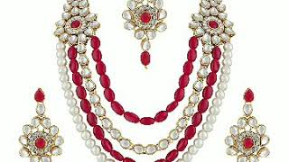 Kundan polki latest jewellery design for party and marriage occasions ❤️❤️❤️