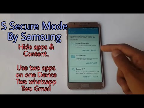 How does Samsung S Secure Mode work in J5 & J7 Prime