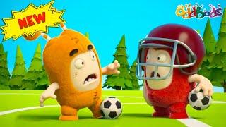 Oddbods   Nouveau   MATCH DE FOOTBALL   Dessins Animés Amusants pour les Enfants