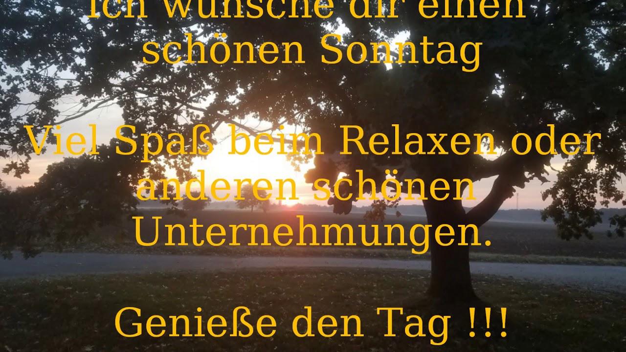 Sonntag whatsapp schönen ᐅ Sonntag