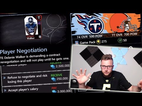 Our First Games And Trades Of The Season! Madden NFL Mobile 20 Season Mode!