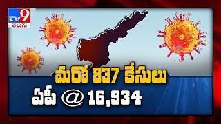 Coronavirus Outbreak : 837 fresh cases in Andhra Pradesh - TV9
