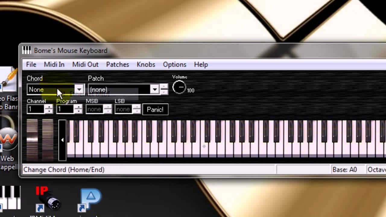 teclado arranjador virtual