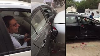 cathay pacific country manager pakistan gone crazy smashed a wrong parked car