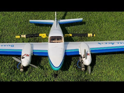 Repeat RC-Horten aus Depron GO-229 RC-Crash by Flybrei