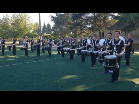Columbians Drumline 2017 Lot Beats (Shoreline, WA)