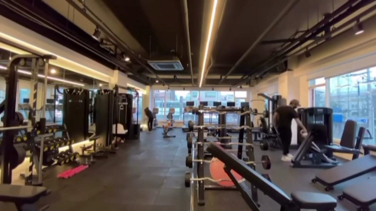 에스템짐 피트니스 헬스장 대청소 영상