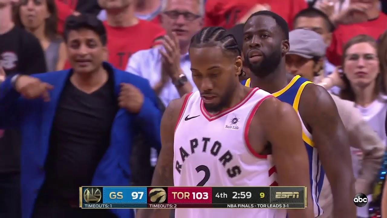 Astonishing Final 5 Mins Of 2019 Nba Finals Game 5 Golden State Warriors Vs Toronto Raptors Youtube