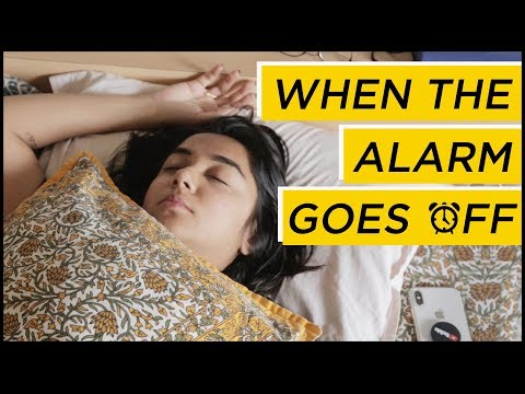 Thoughts You Have When The Alarm Rings | MostlySane