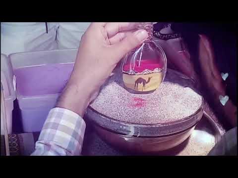 """How To Make Sand Art In Bottle Full Vedio  Dubai 2019 Art Of Dubai - """"Bottle Sand Art"""""""