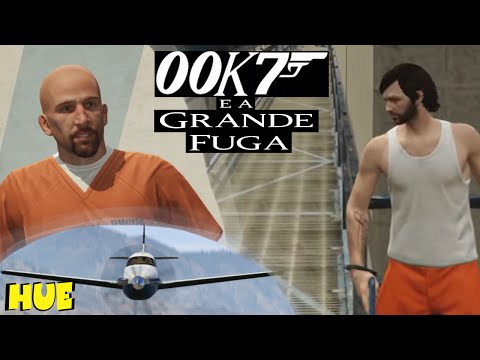 00K7 E A GRANDE FUGA ft General do Medo, DBzera & Filipe Leme - GTA 5 - HUEstation