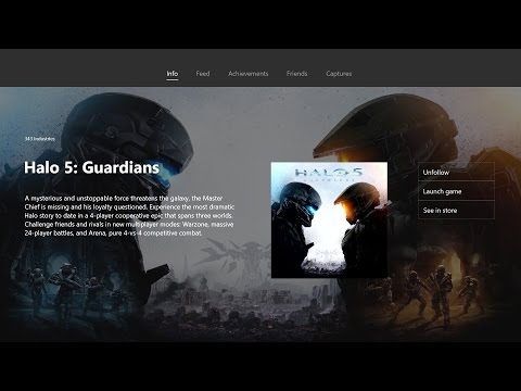 Games Hubs on the New Xbox One Experience