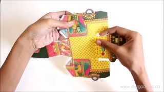 Sky Goodies DIY Bombay Auto Rickshaw Box Papercraft